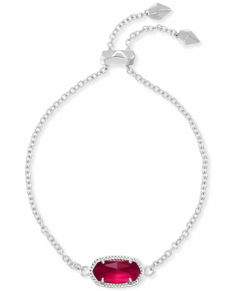 Elaina Silver Bracelet in Berry Illusion