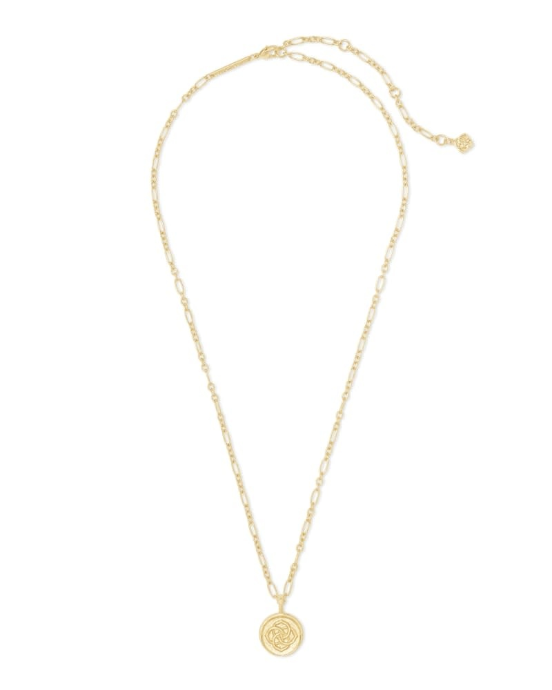 Dira Coin Necklace in Gold