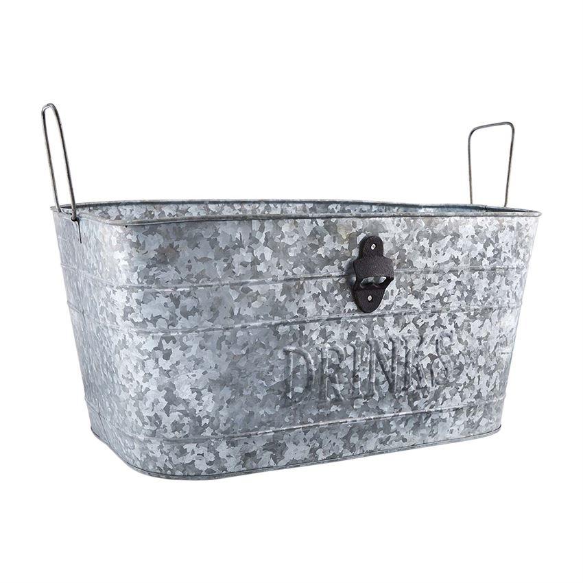 Galvanized Party Tub