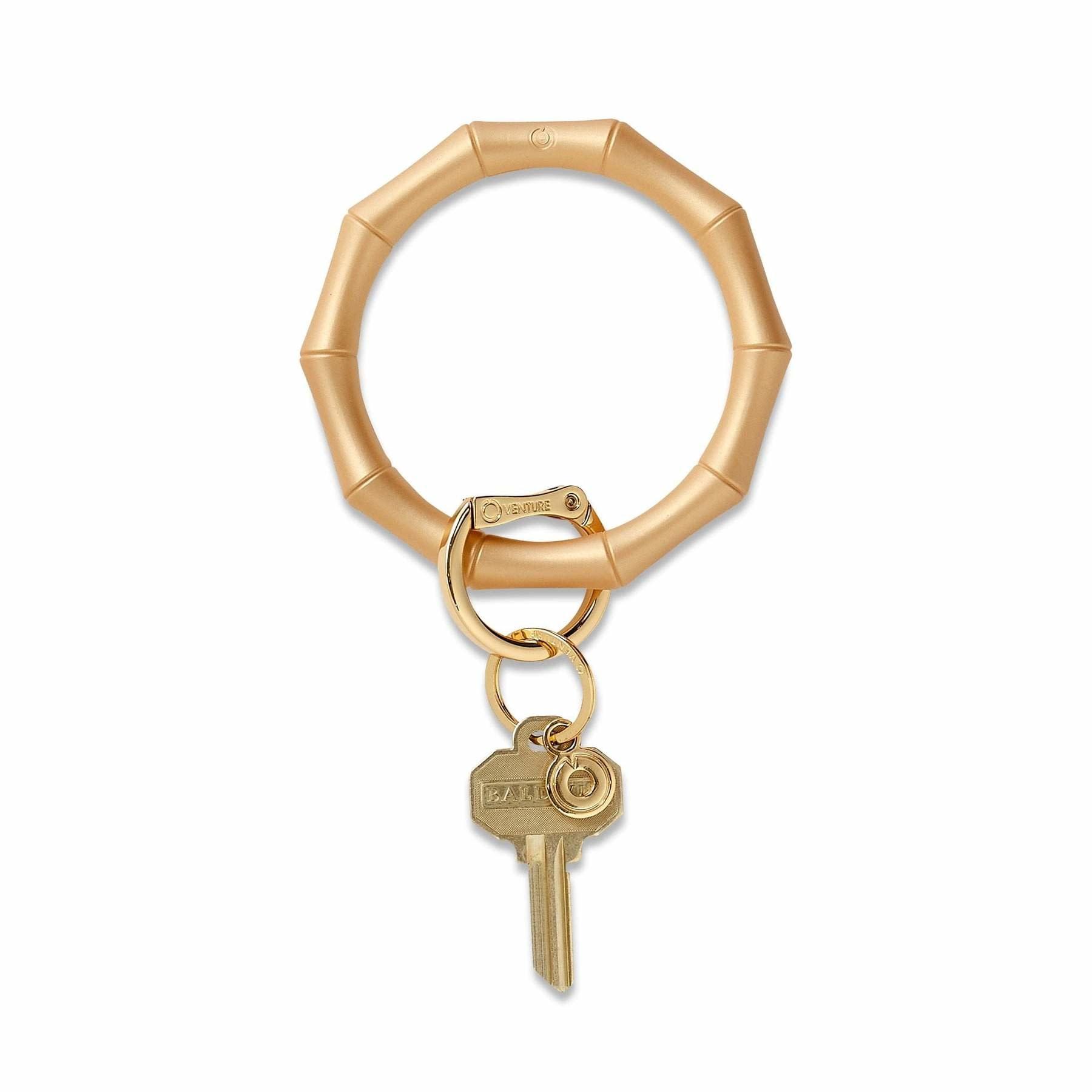 Bamboo Big O Key Ring