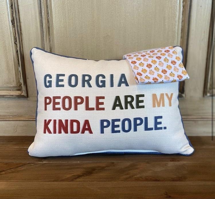 My Kinda People Pillow