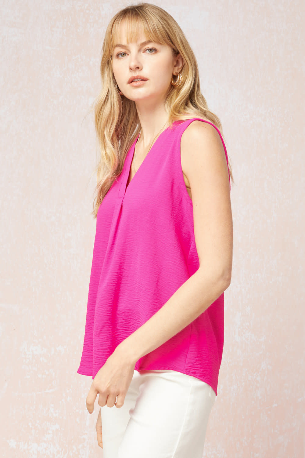 Zoey Hot Pink Tank