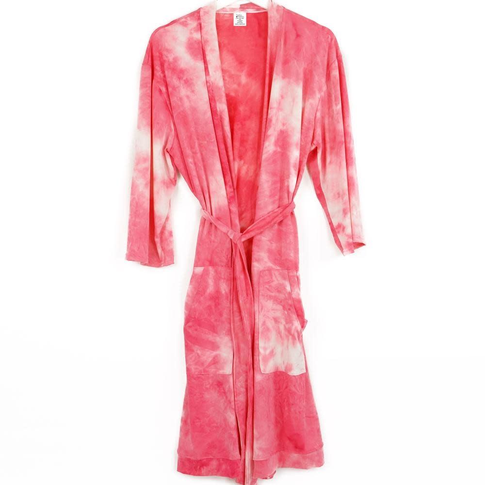 HELLO MELLO Hello Mello Robe Coral Tie Dye