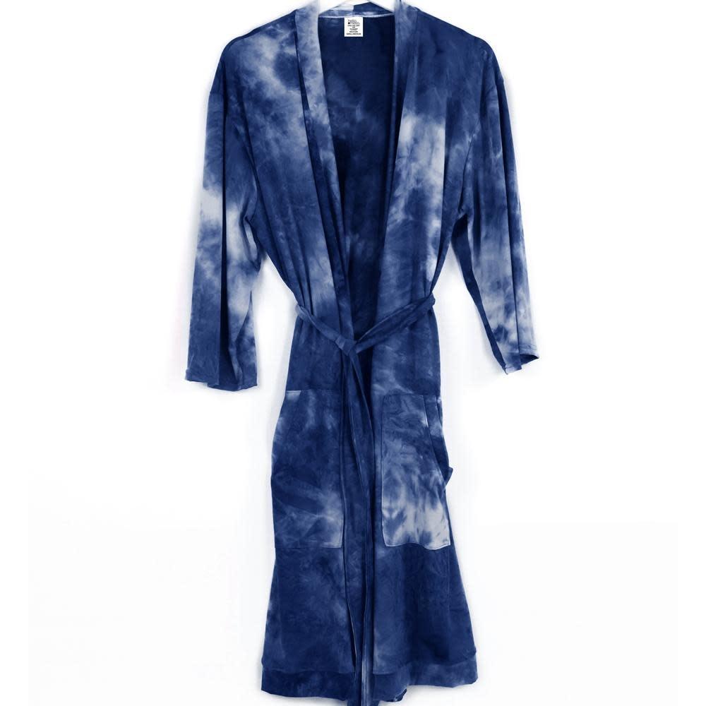 HELLO MELLO Hello Mello Robe Navy Tie Dye