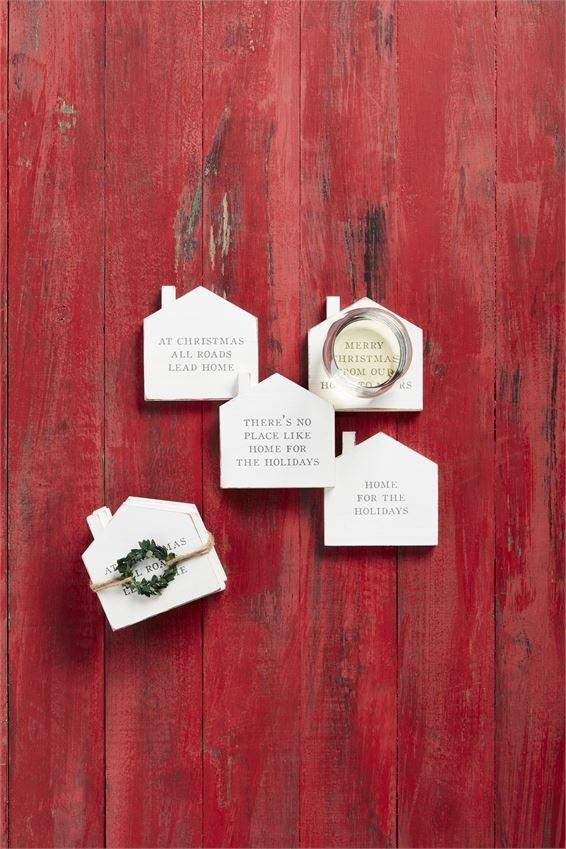 Christmas Home Coaster Set