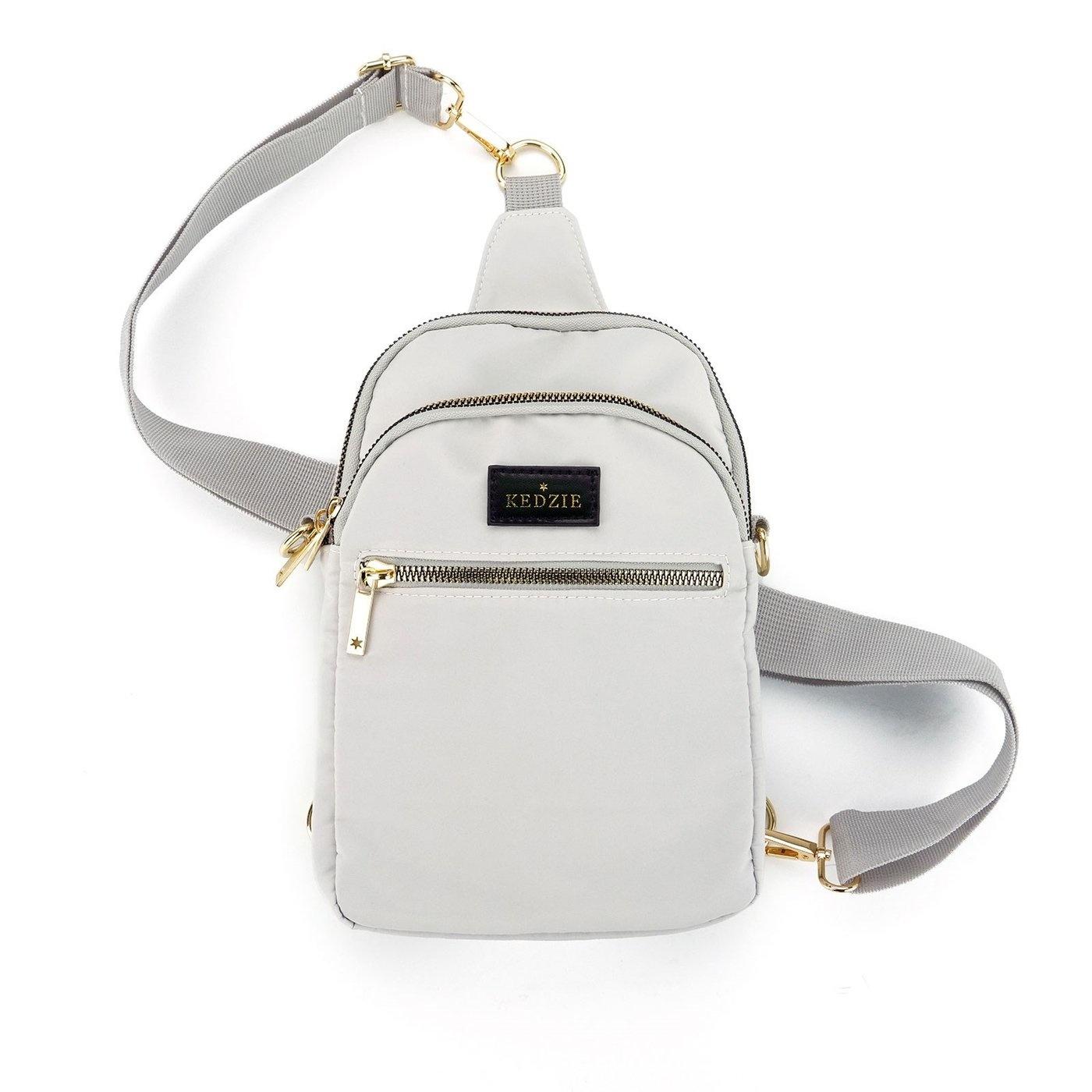 Sling Bag, Kedzie, Gray