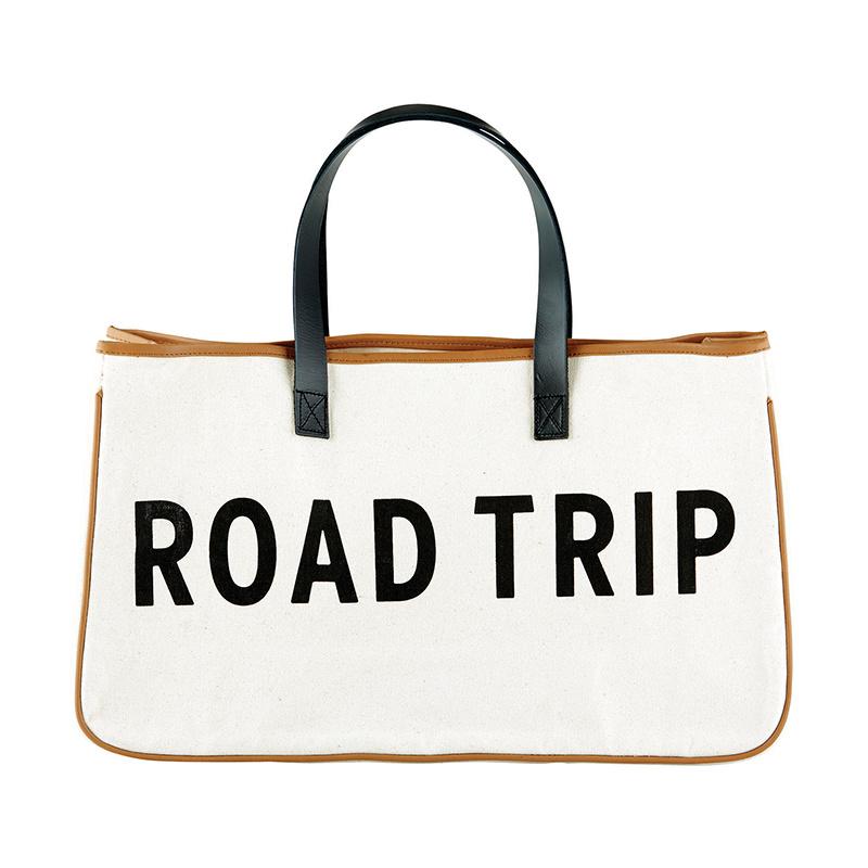 Canvas Tote: Road Trip