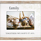 Family Together We Rustic Frame
