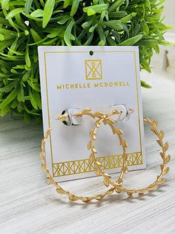 Gold Devon Earrings