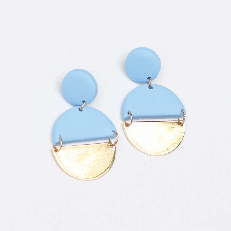 Blue Brexley Earrings