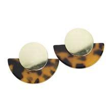 Highland Dark Tortoise Earrings
