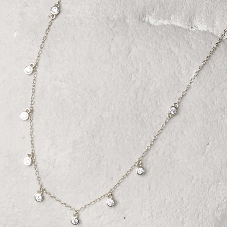 Silver Luxe Necklace Easton