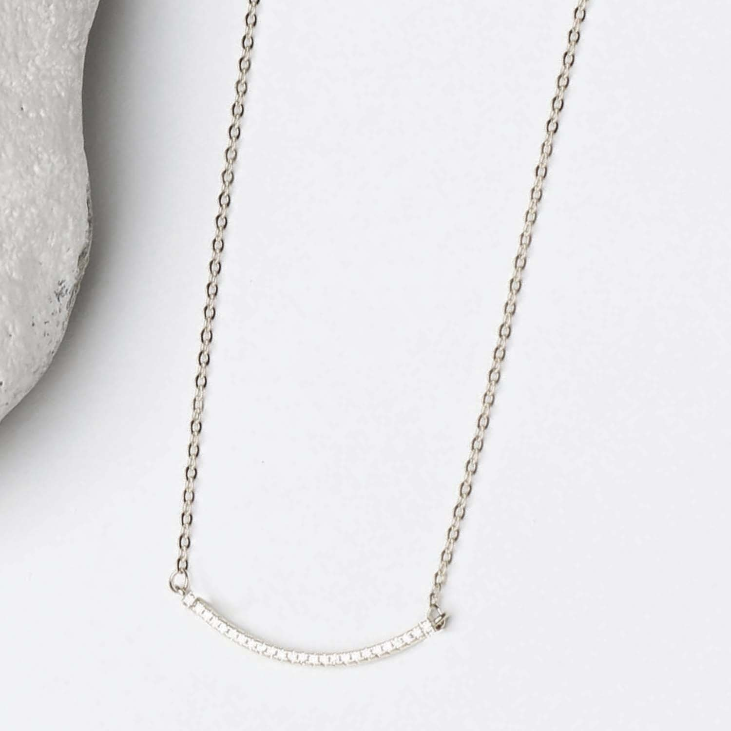 Silver Luxe Necklace Aiden