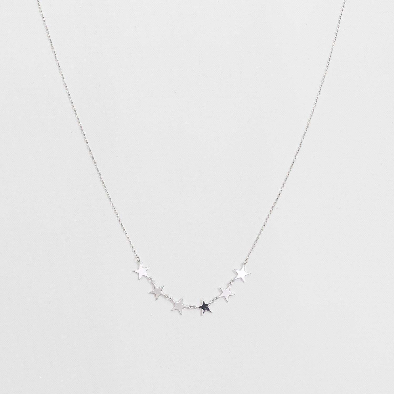 Luxe Necklace Silver Lexi