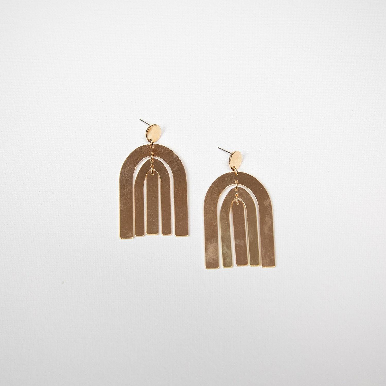 Gold Micah Earrings