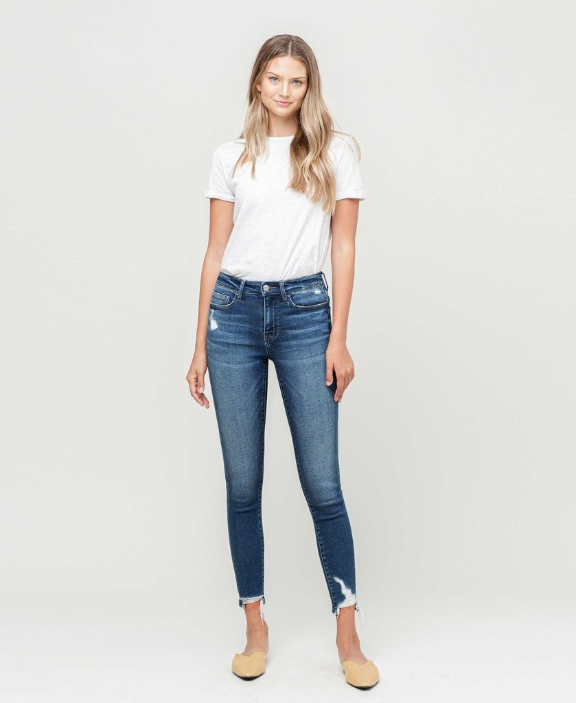 Jeans, Mid-Rise Skinny