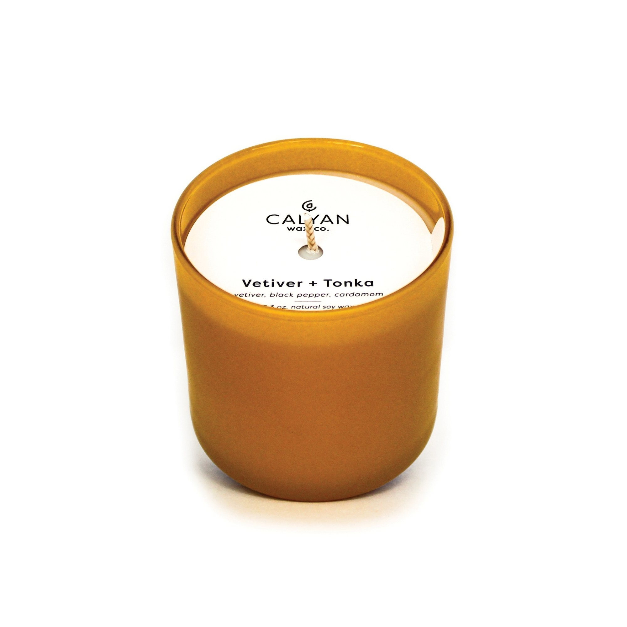 Vetiver + Tonka Dignity Series Soy Candle