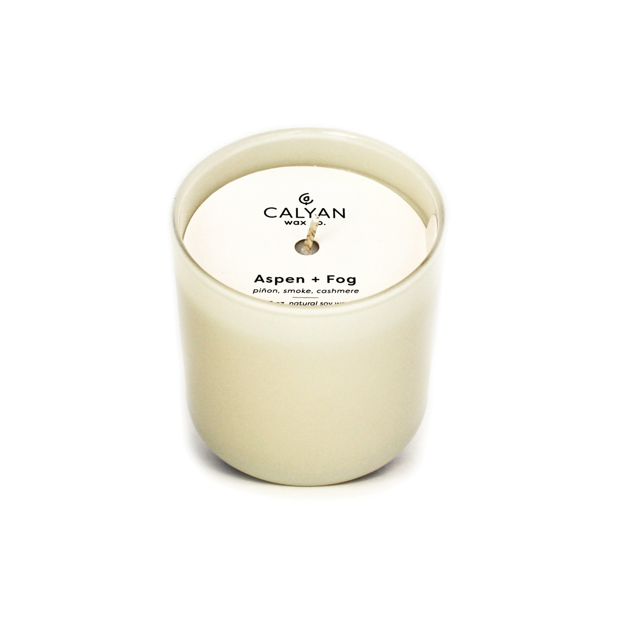 Aspen + Fog Dignity Series Soy Candle