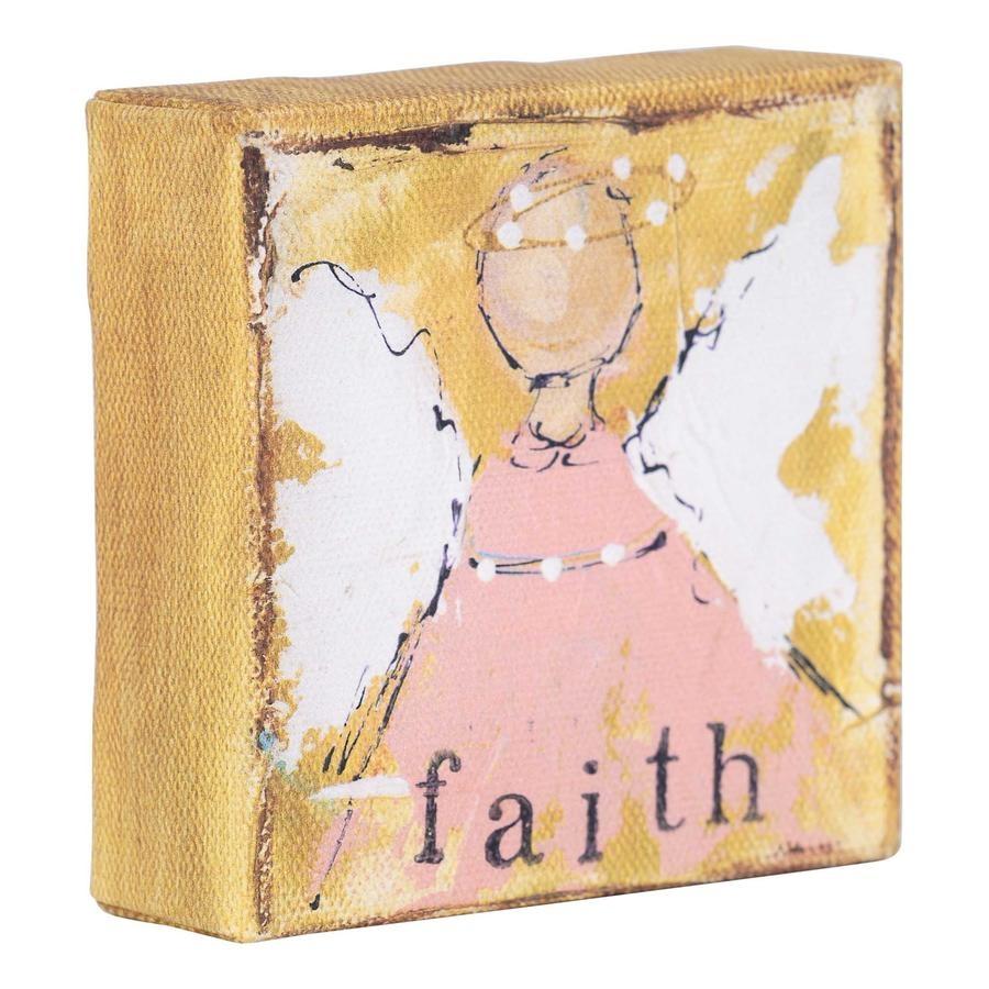 Faith Angel Canvas