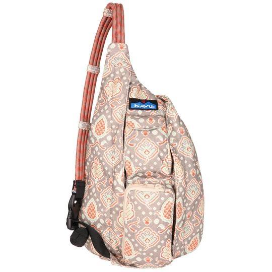 Mini Rope Bag: Wild Weaves