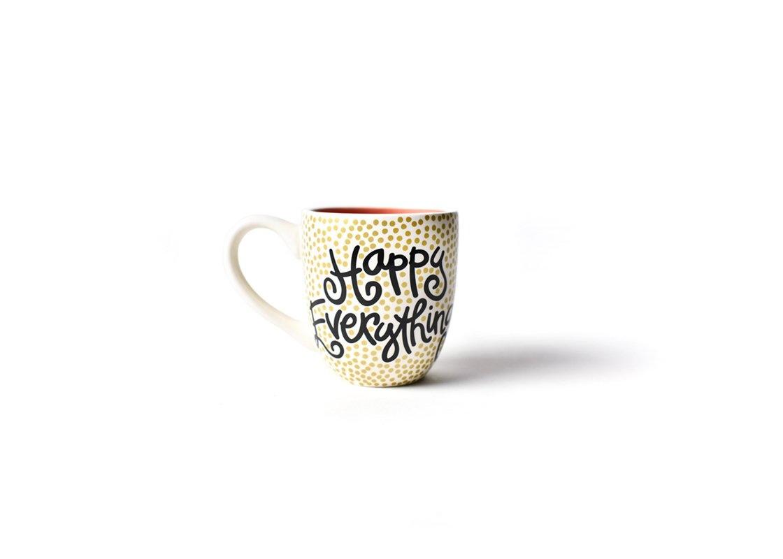 Happy Everything Mug: Happy Everything (Gold small dot)