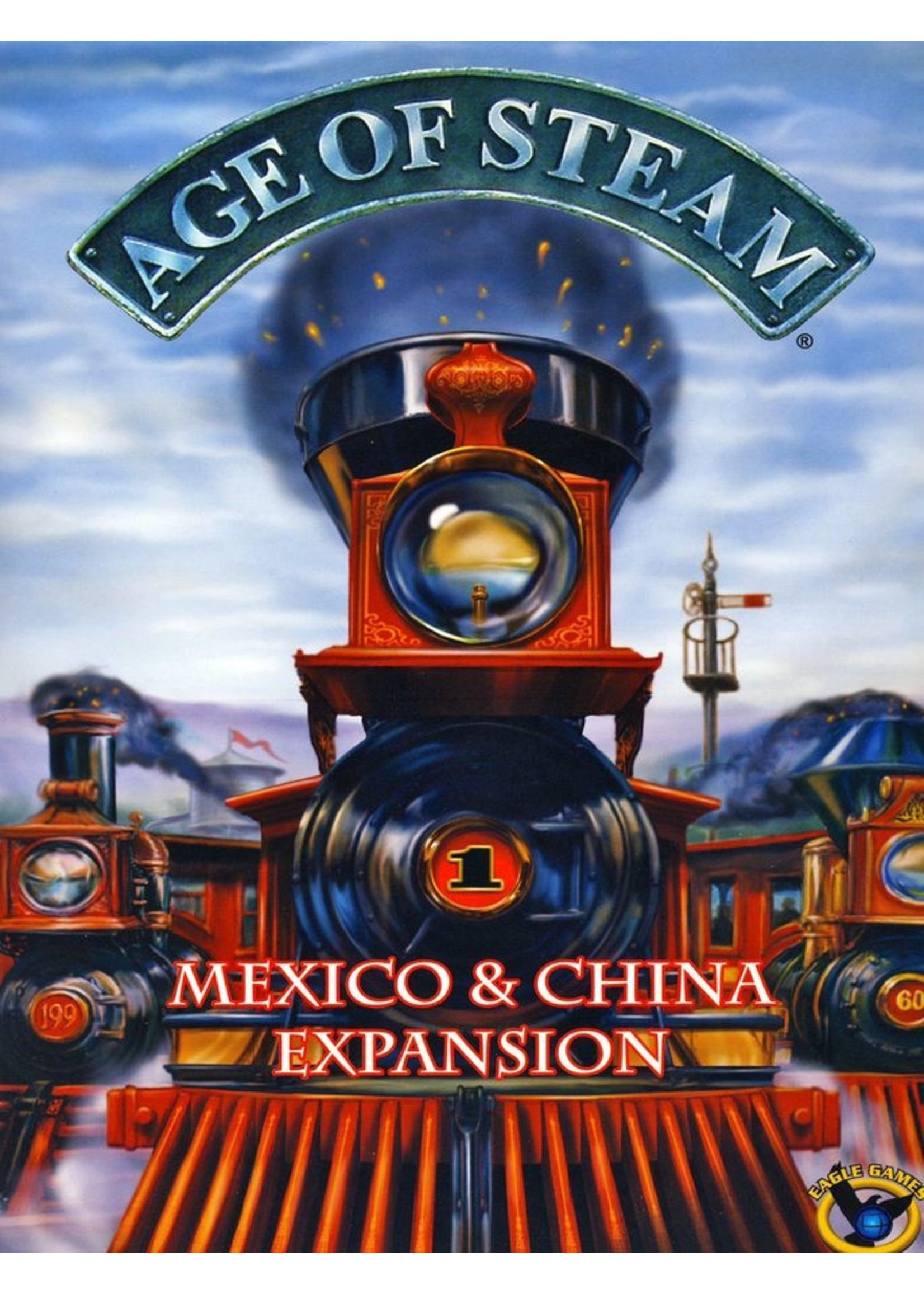 Age of Steam: China / Mexico Expansion