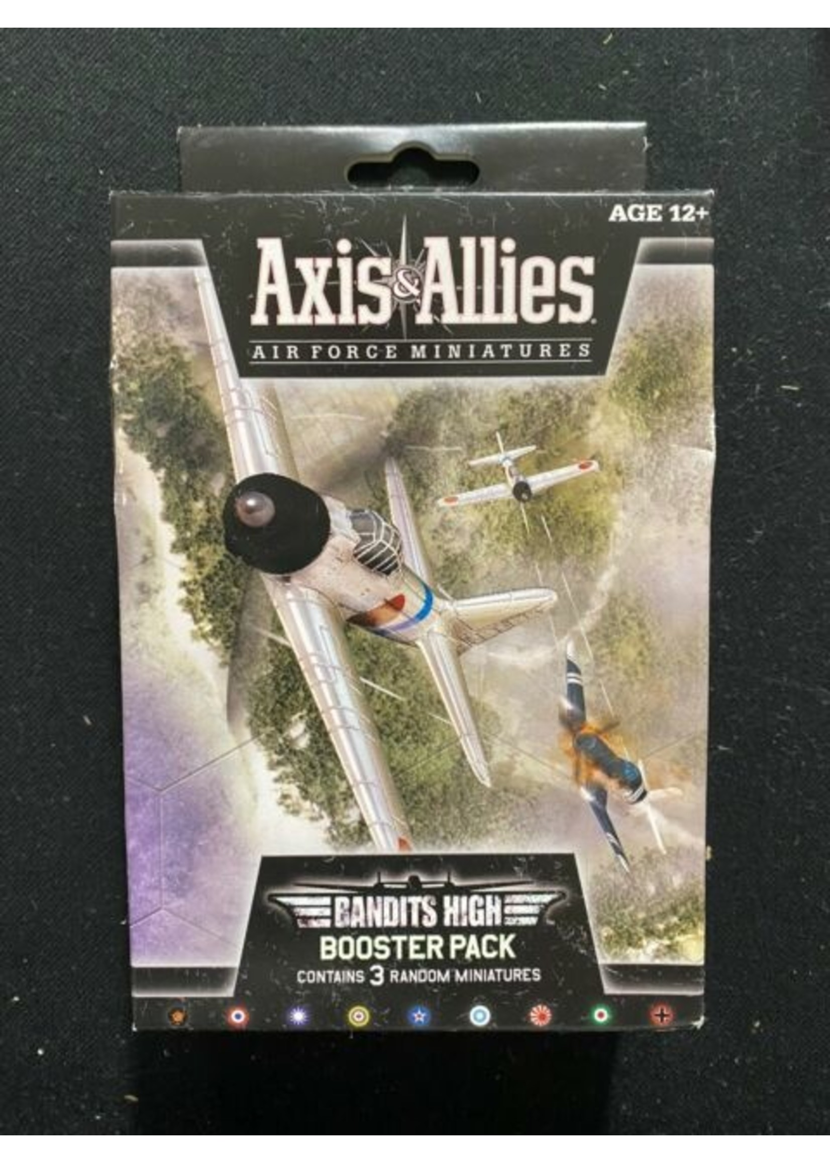 Axis and Allies Air Force Miniatures CMG: Bandits High Booster