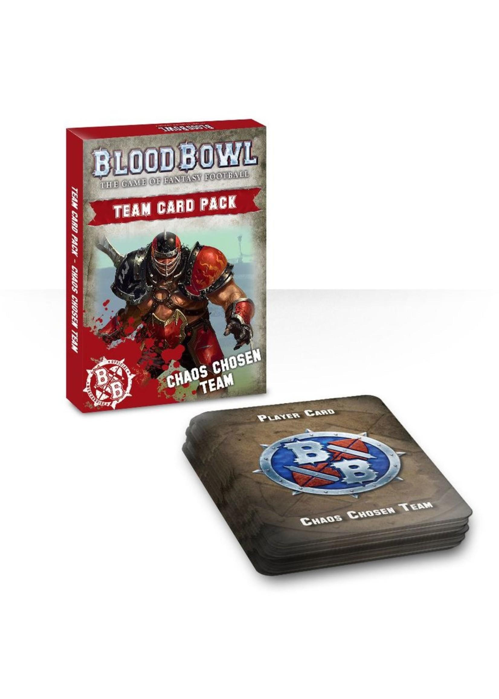 Blood Bowl: Chaos Chosen Team Card Pack