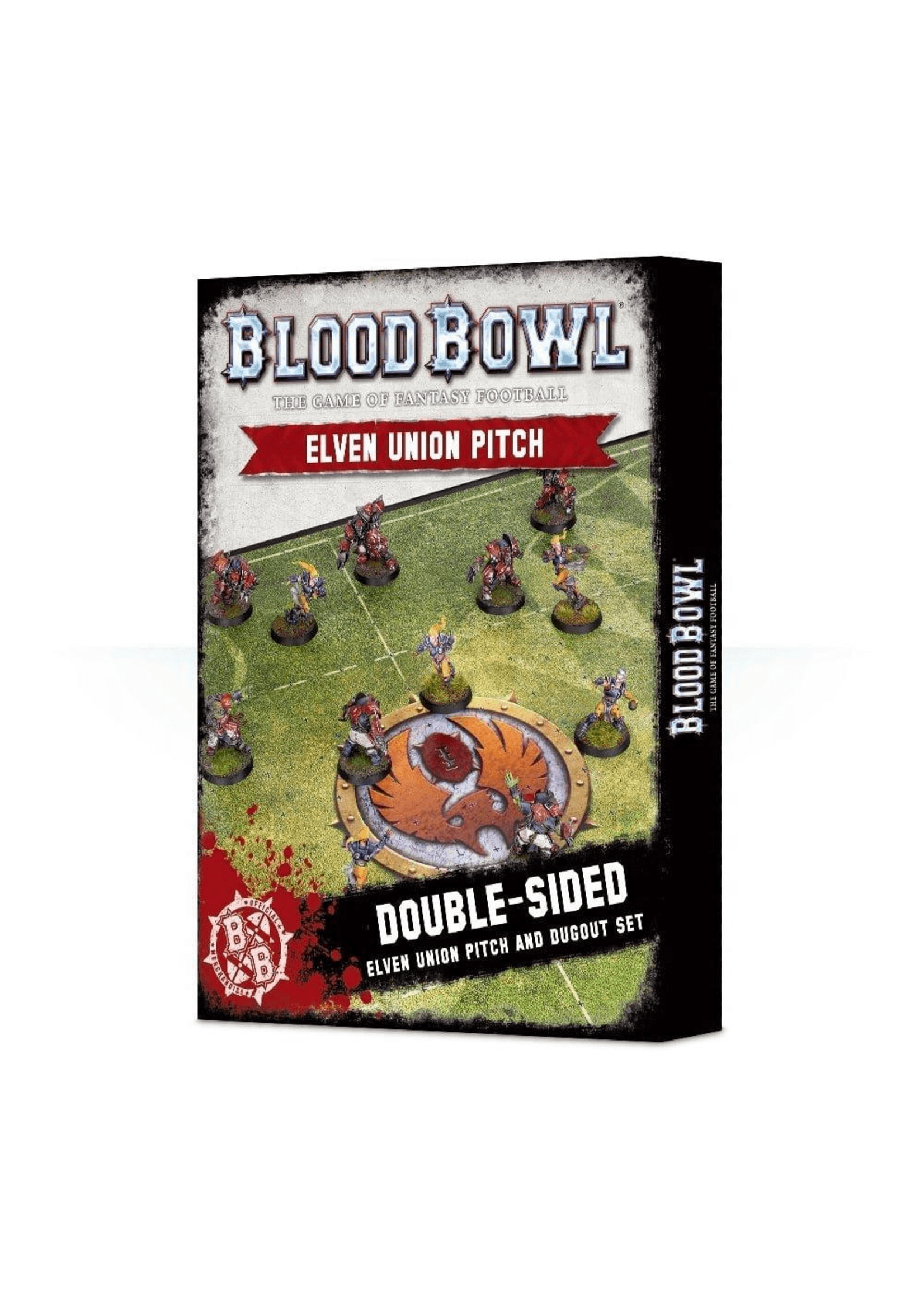 Blood Bowl: Elven Union Pitch and Dugouts