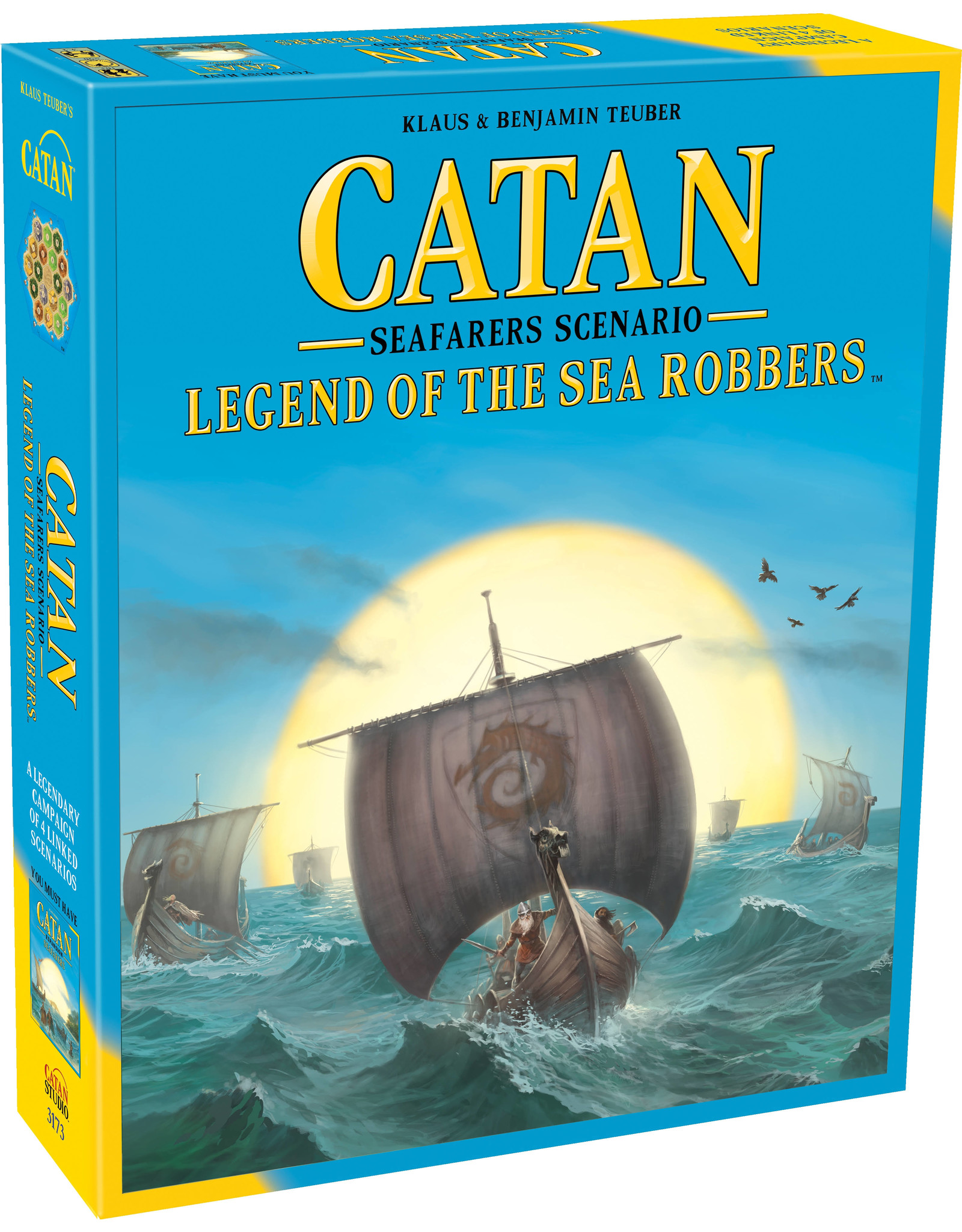 Catan: Legend of the Sea Robbers Expansion