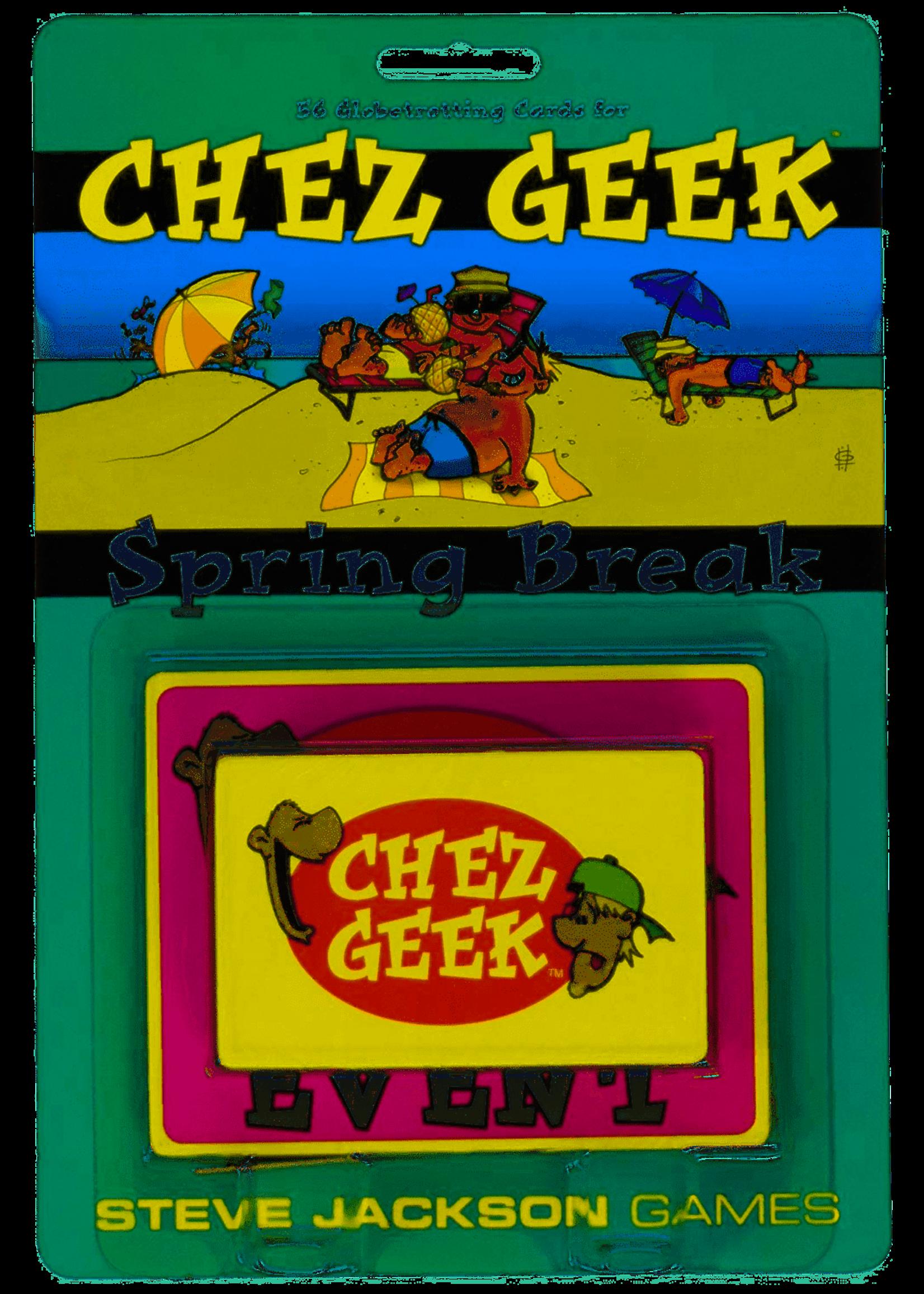 Chez Geek: Spring Break Expansion