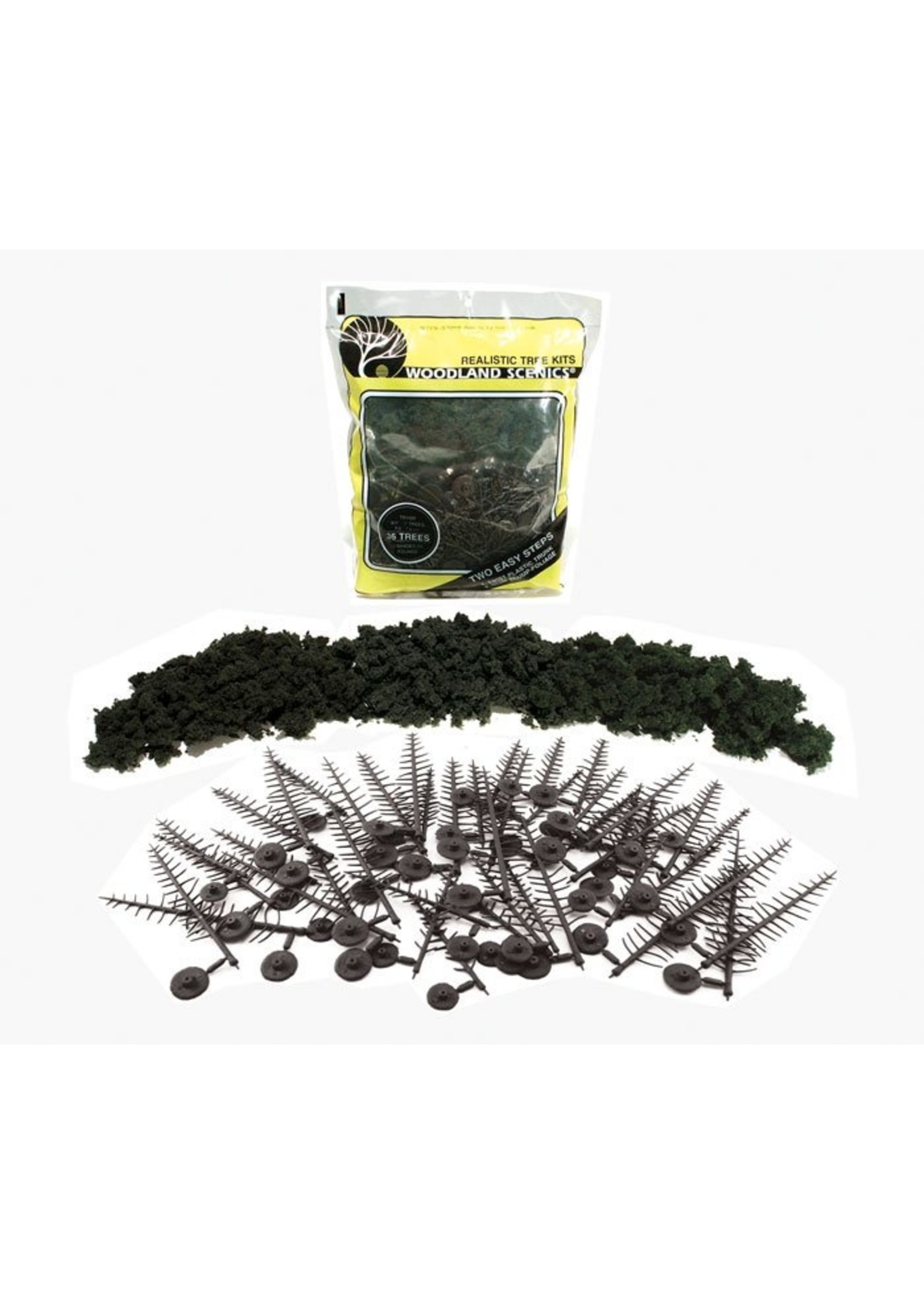 Conifer Tree Kit, 2-1/4''-4'' (24)