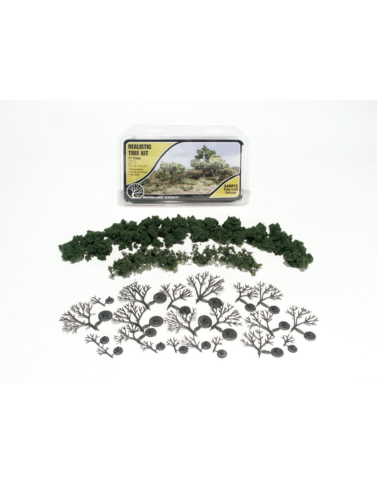 Deciduous Tree Kit, 3/4''-3'' (21)