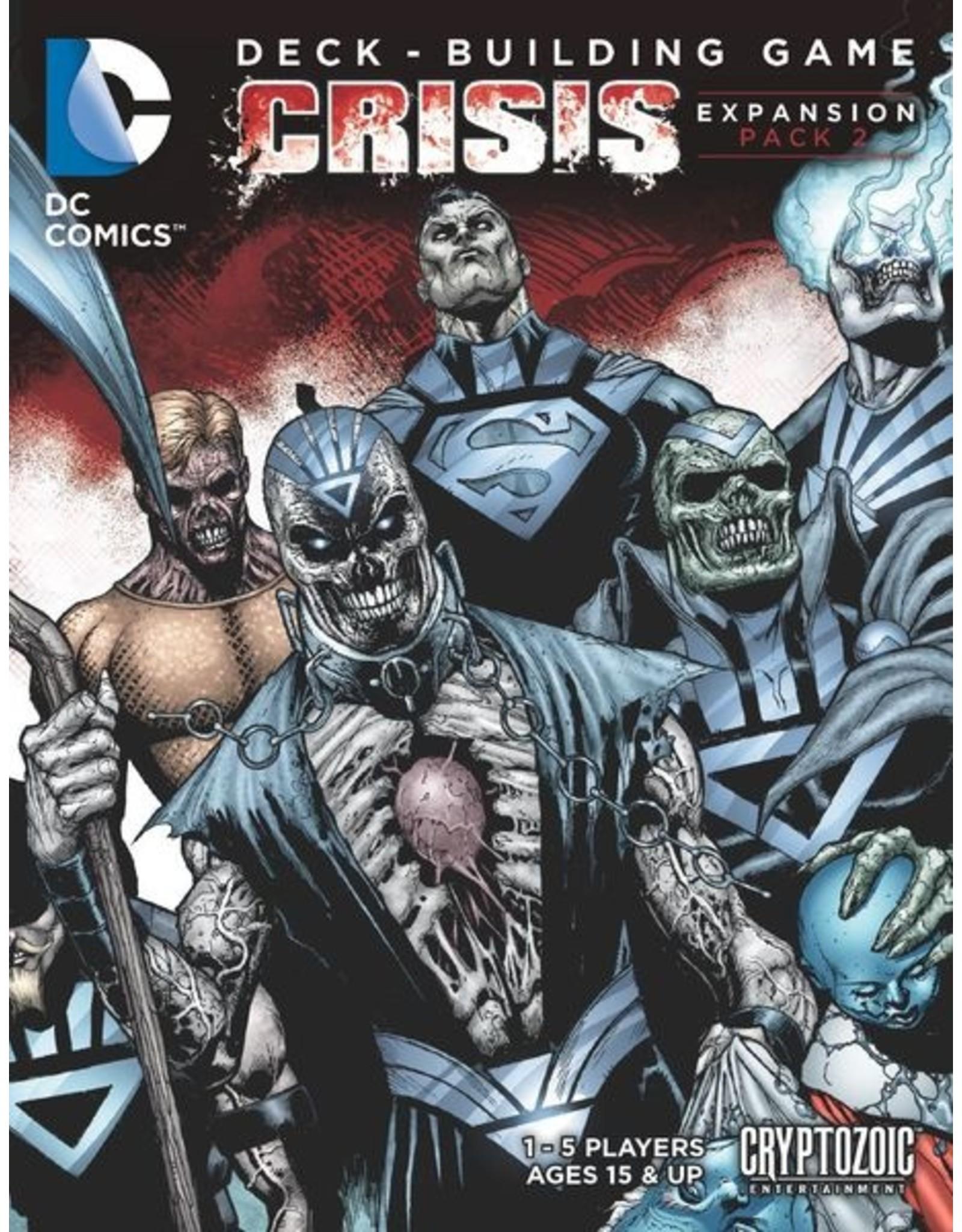 DC Comics DBG: Crisis Expansion Pack 2