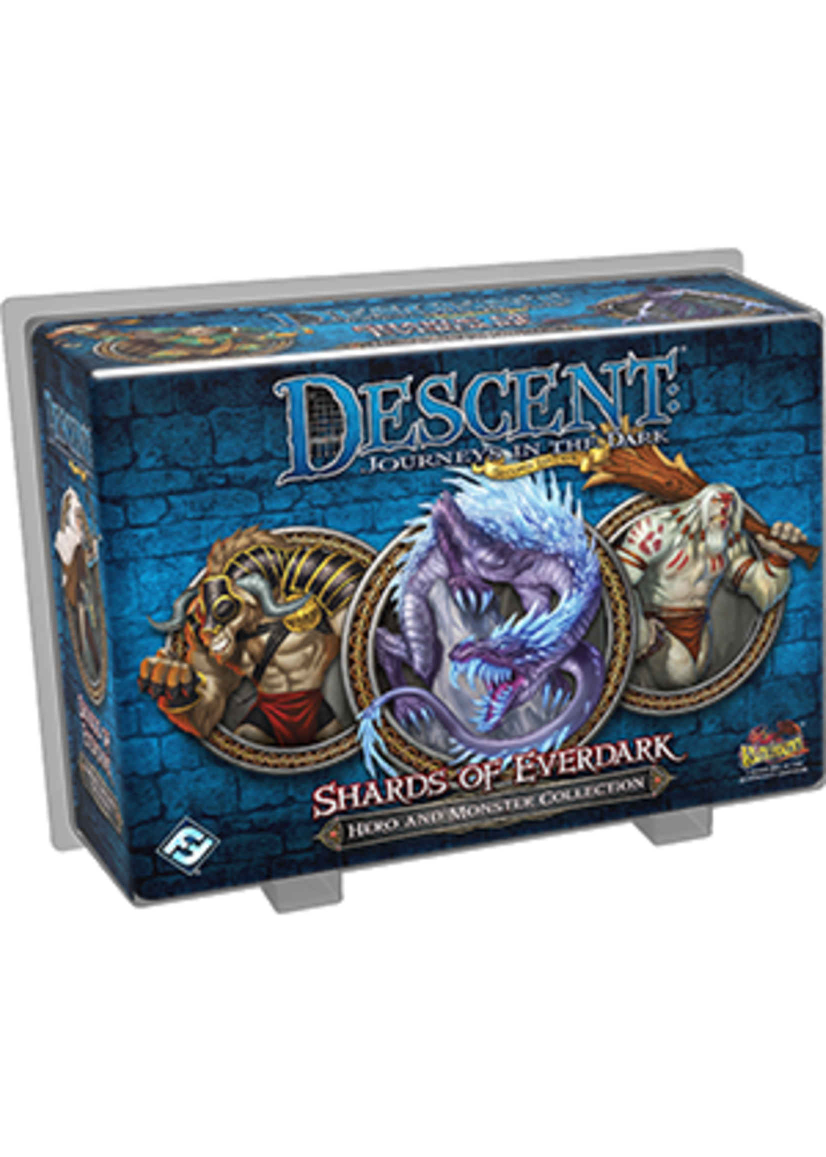 Descent Journeys in the Dark 2nd Edition: Shards of Everdark Hero and Monster Collection