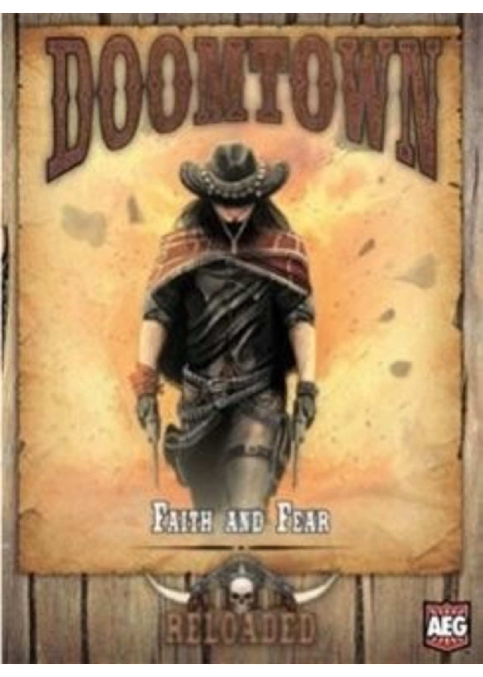 Doomtown: LCG Expansion Pine Box 1 - Faith and Fear
