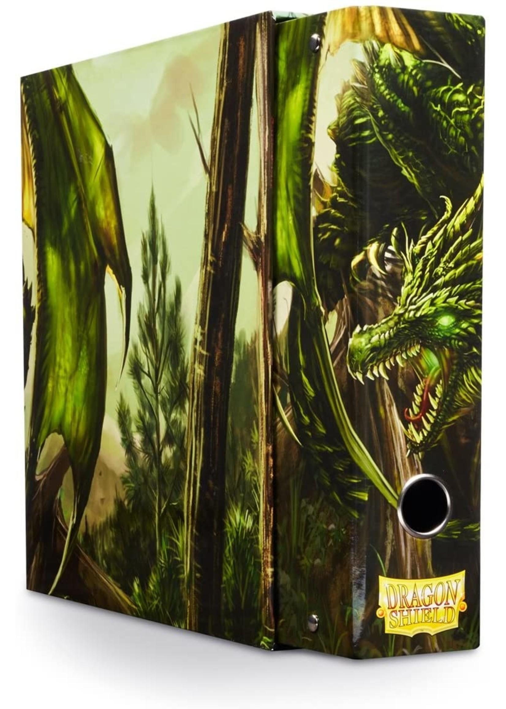Dragon Shield: Slipcase Binder Green