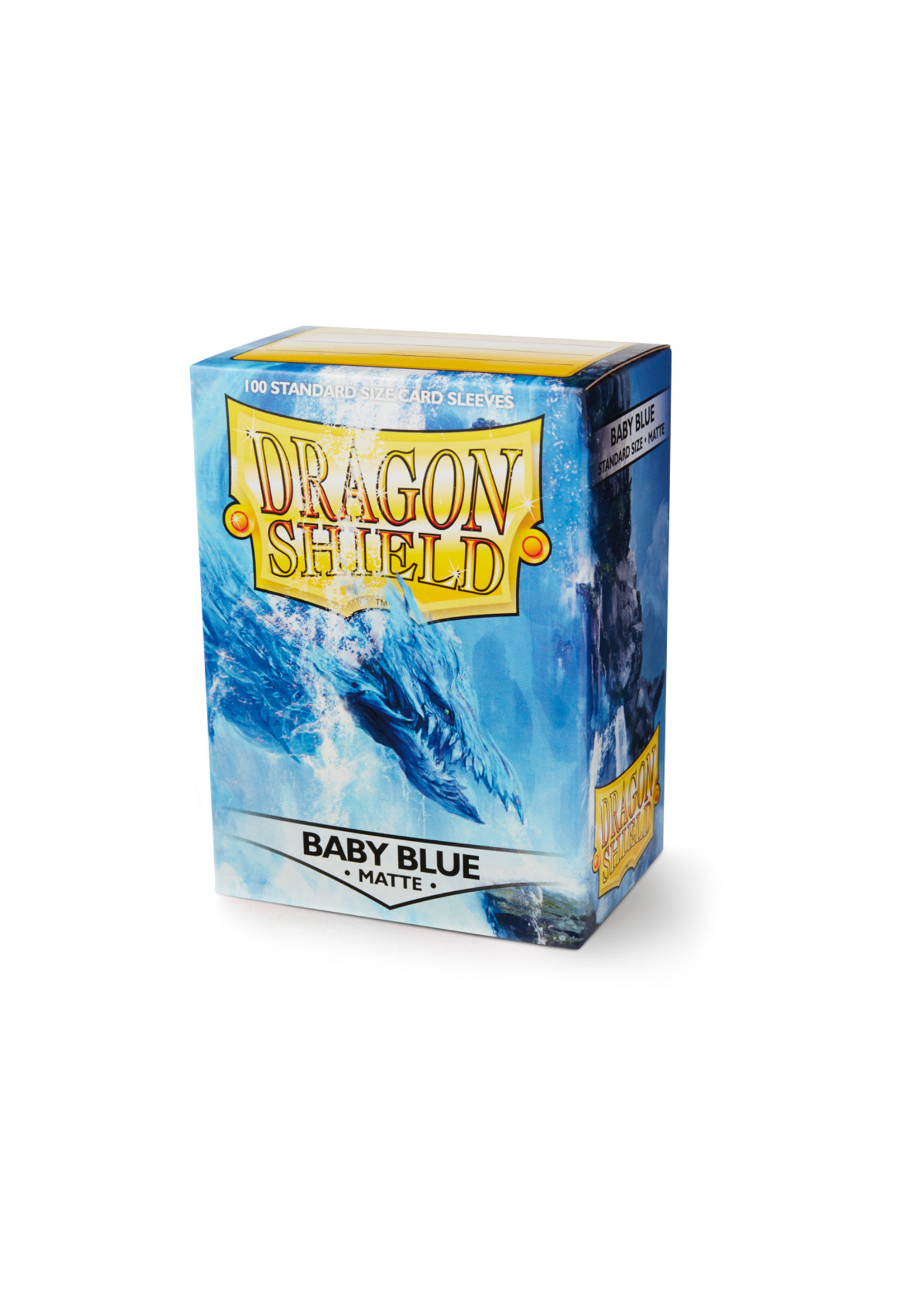 Dragon Shields:  (100) Matte Baby Blue
