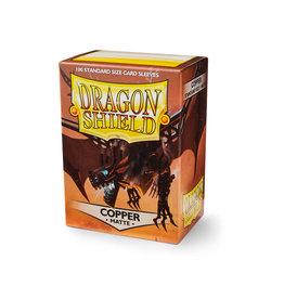 Dragon Shields: (100) Matte Copper