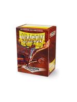 Dragon Shields: (100) Matte Crimson