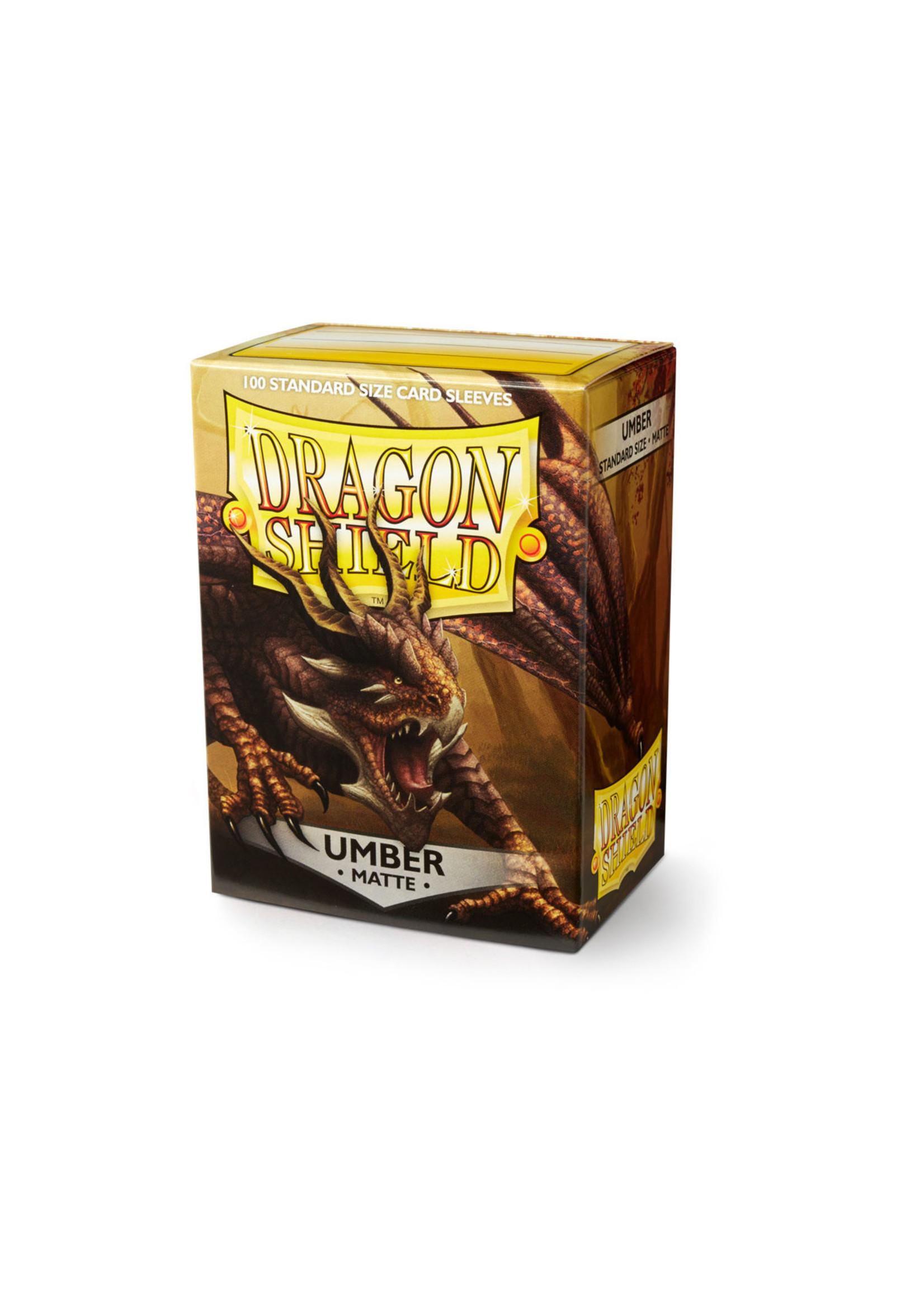Dragon Shields: (100) Matte Umber