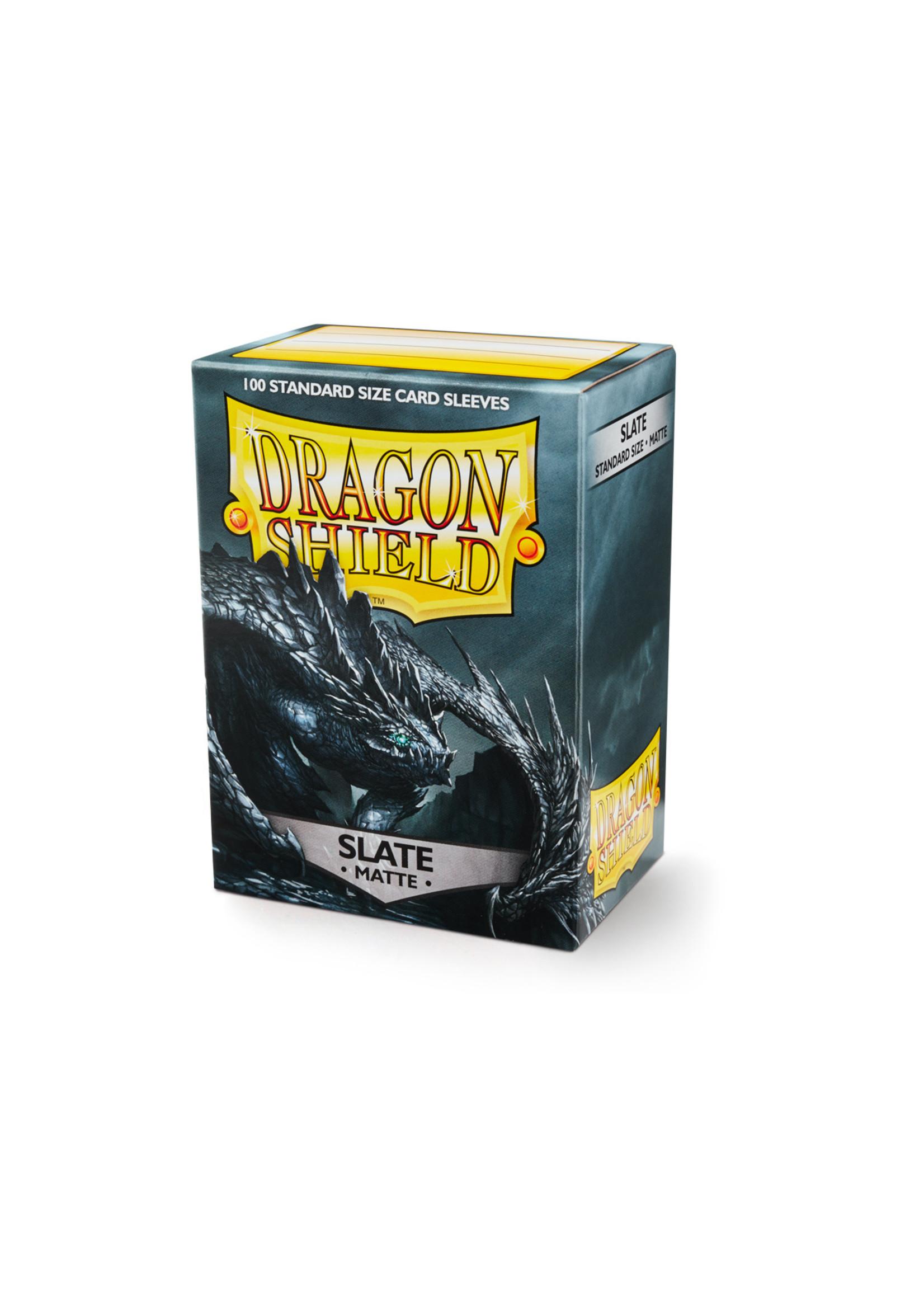 Dragon Shields: (100) Matte Slate