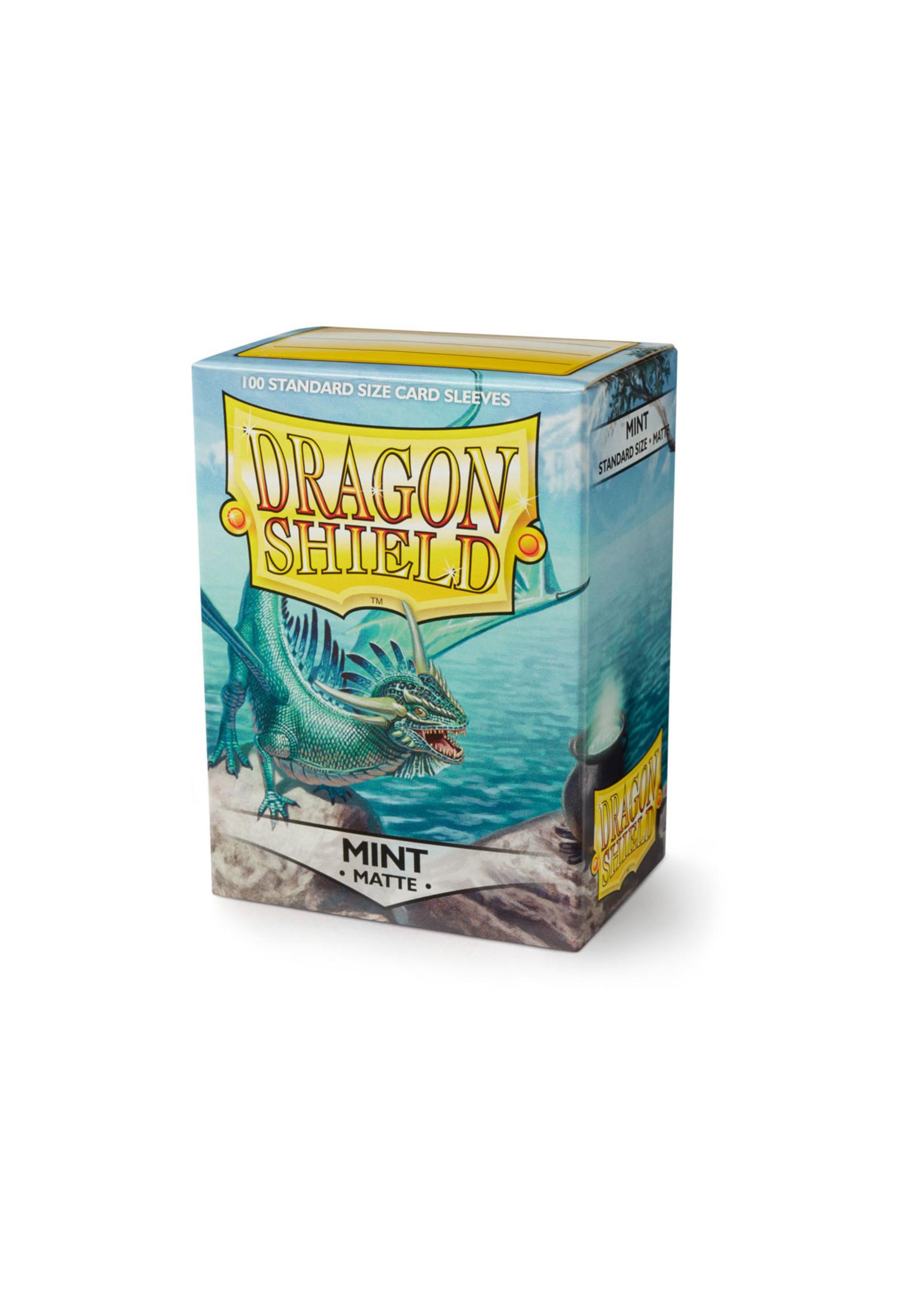 Dragon Shields: (100) Matte Mint
