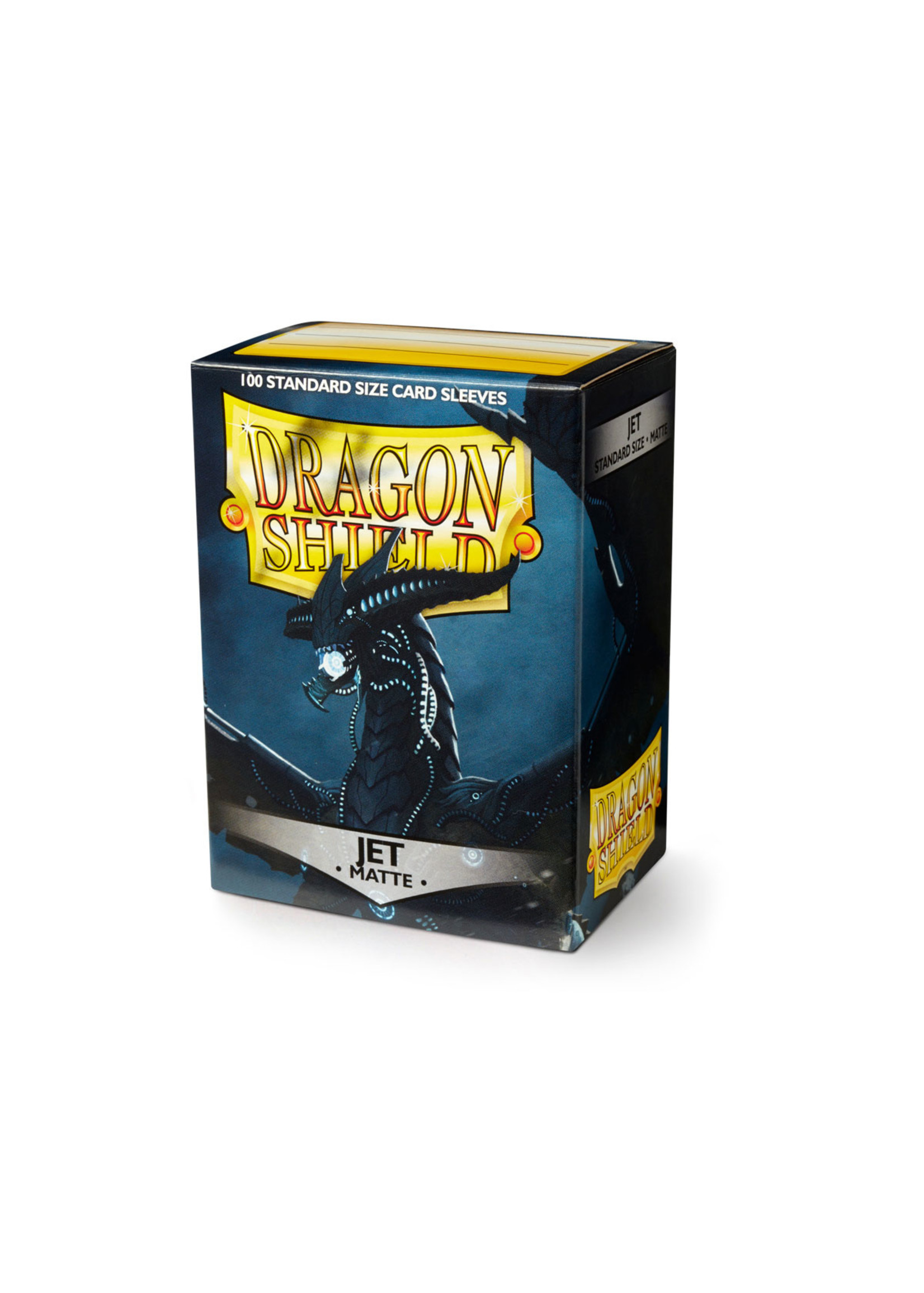 Dragon Shields: (100) Matte Jet