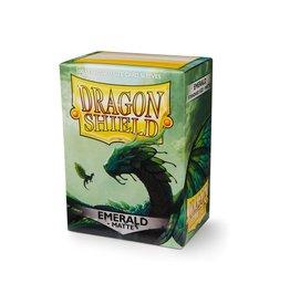 Dragon Shields: (100) Matte Emerald