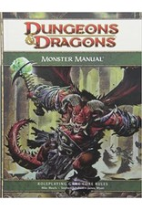 Dungeons and Dragons RPG: 4E Monster Manual Hardcover