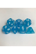 Frosted: Poly Caribbean Blue/White (7)