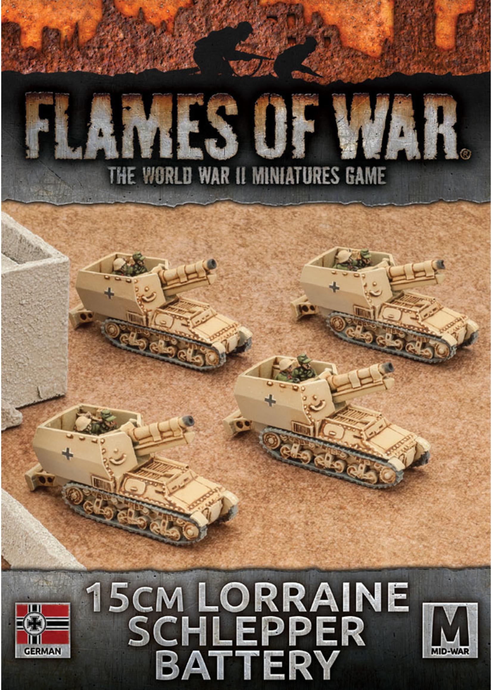 Flames of War: 15CM Lorraine Schlepper Battery