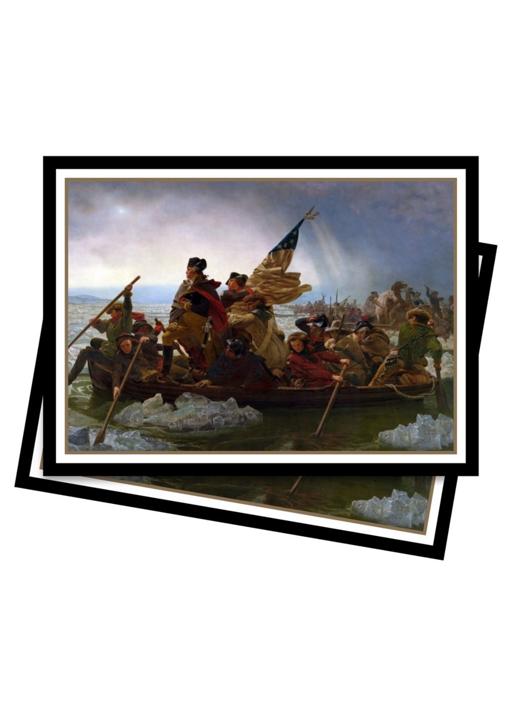 Fine Art: Deck Protector Pack - Washington Crossing the Delaware (65)