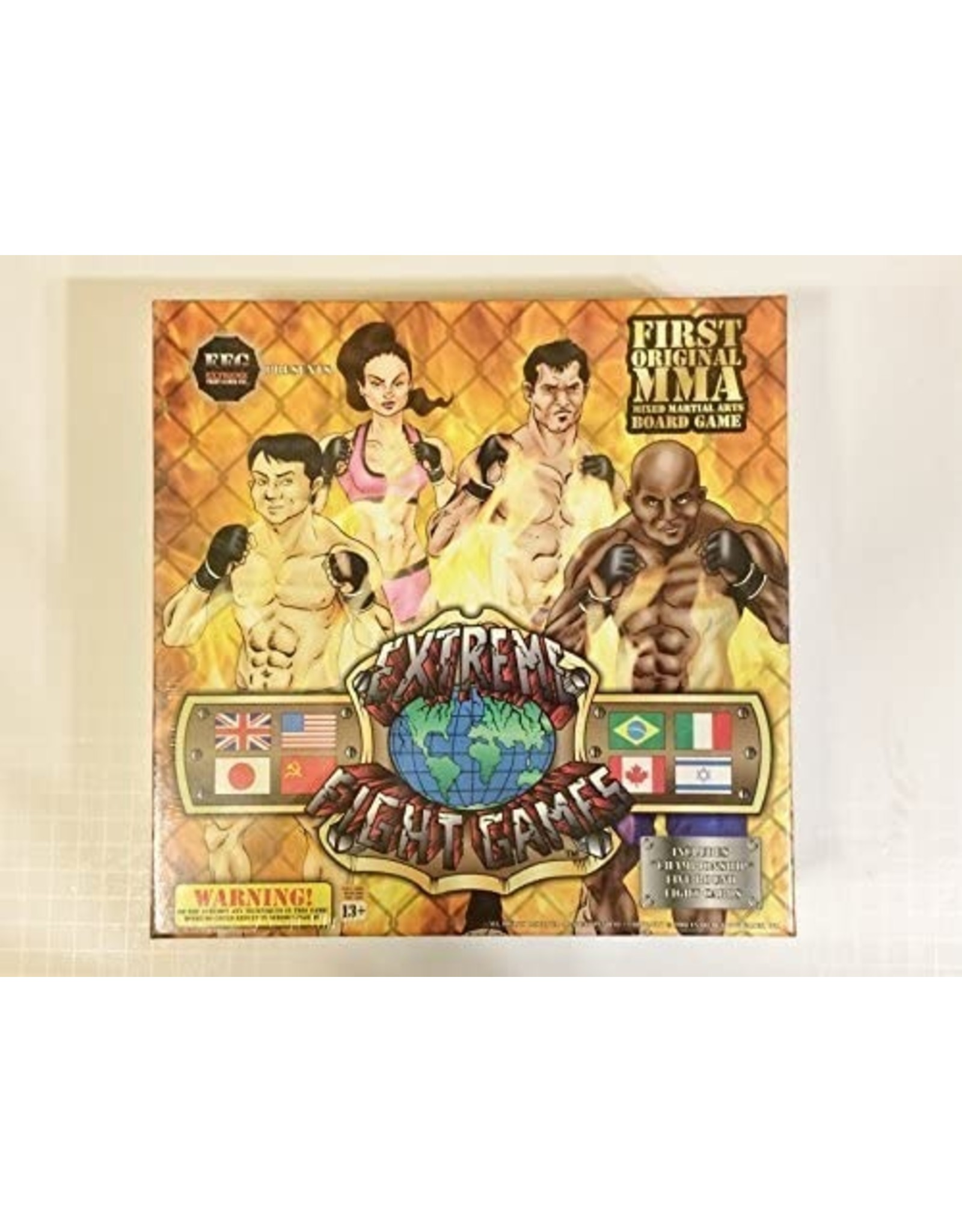 Extreme Fight Board Game